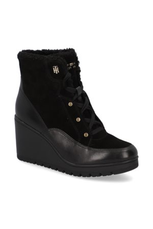 Tommy Hilfiger Warmlined Mid Wedge Boot