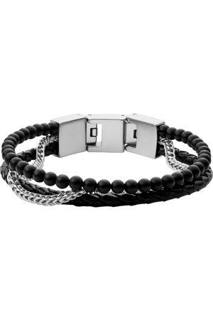 Fossil Armband - Onyx - JF03850040 Edelstahl, Onyx