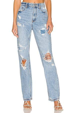 Free People CRVY Straight Shooter Jean in . Size 26, 27, 28, 29, 30, 32.