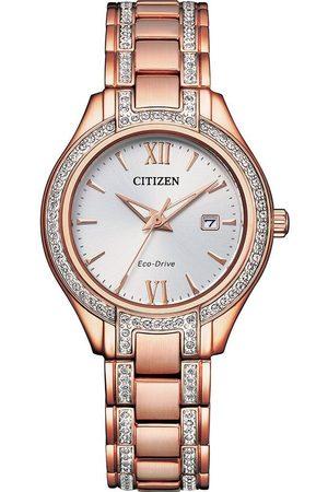 Citizen Uhren - Uhren - Silhouette Crystal - FE1233-52A Damen rosé