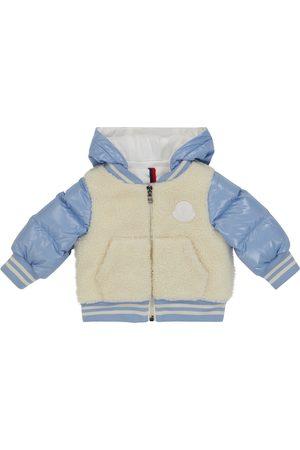 Moncler Baby Bomberjacke aus Shell und Fleece