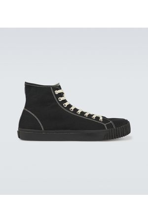 Maison Margiela High-Top Tabi-Sneakers aus Canvas