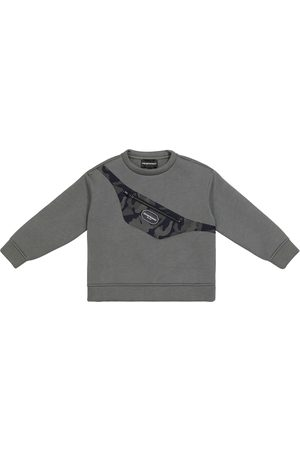 Emporio Armani Kids Sweatshirt aus Jersey