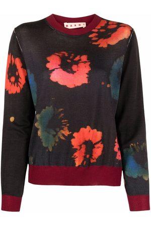 Marni Pullover mit Blumen-Print
