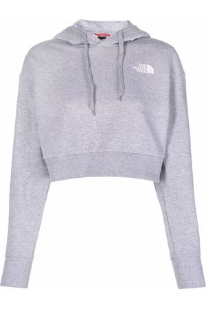 The North Face Cropped-Hoodie mit Logo