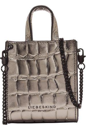 liebeskind Henkeltasche (Tote bag) - Metallic Kroko Paper Bag XXS - T1.110.94.X809-8506 Damen