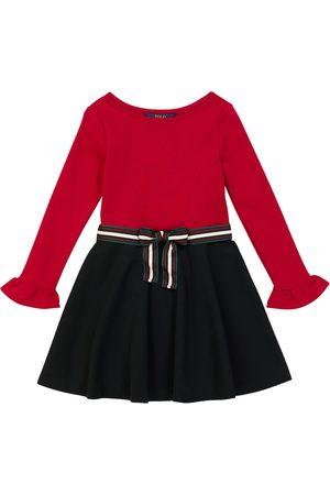 Ralph Lauren Mädchen Freizeitkleider - Minikleid aus Jersey