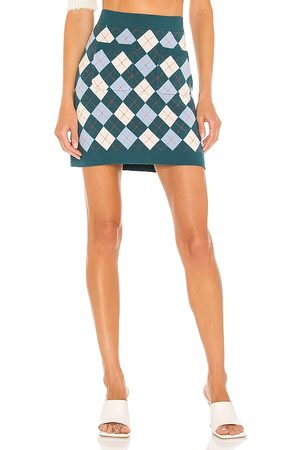 Free People Argyle Viola Sweater Skirt in . Size M, S, XS.