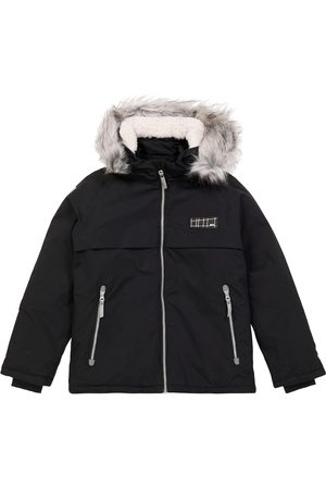 Molo Skijacke Castor aus Softshell mit Faux Fur