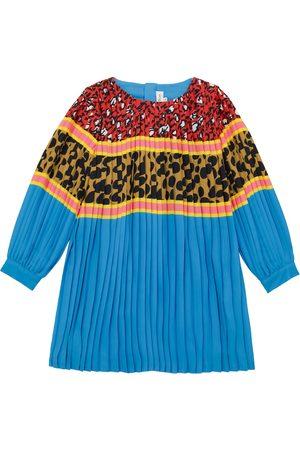The Marc Jacobs Mädchen Bedruckte Kleider - Bedrucktes Kleid mit Plisseefalten