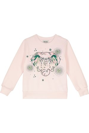 Kenzo Mädchen Sweatshirts - Besticktes Sweatshirt