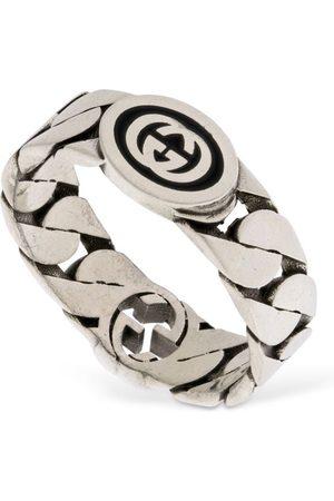 "Gucci Damen Ringe - Breiter Ring ""interlocking G"""
