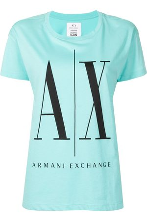 Armani Damen Shirts - T-Shirt mit Logo-Print