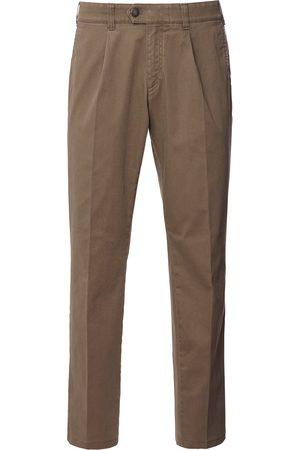 Brax Herren Cropped - Bundfalten-Hose Modell Mike Größe: 25