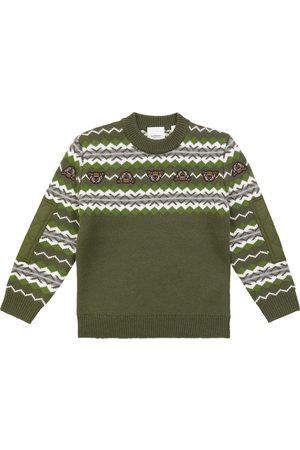 Burberry Pullover aus Wolle und Kaschmir