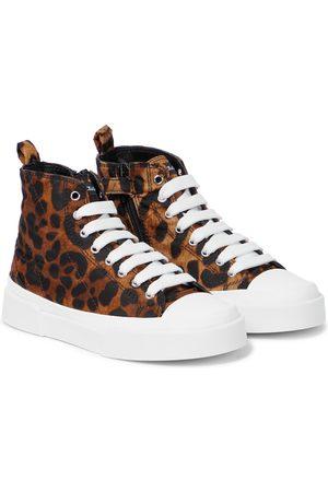 Dolce & Gabbana High-Top Sneakers Portofino aus Canvas