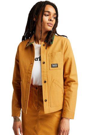 Timberland Damen Jacken - Workwear Chore Jacke Für Damen In Gelb