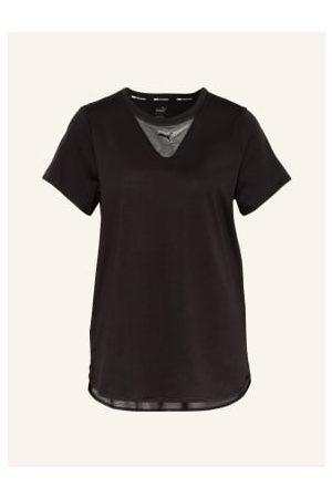 PUMA Damen Shirts - T-Shirt Train Mit Mesh-Einsätzen
