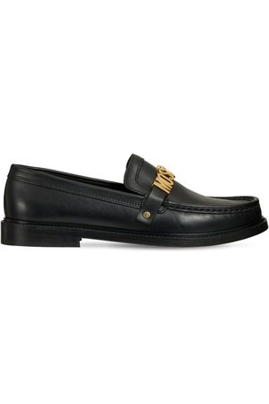Moschino 25mm Hohe Loafers Aus Lackleder