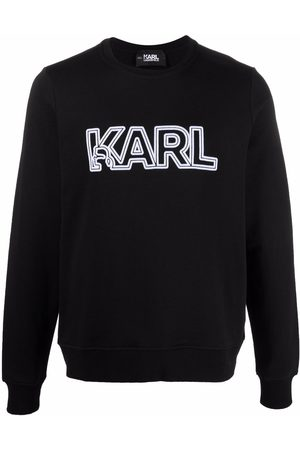 Karl Lagerfeld Damen Sweatshirts - Sweatshirt mit Logo-Print