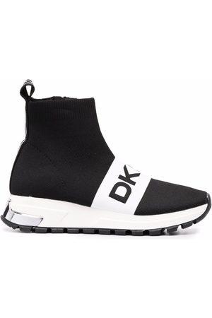 DKNY Damen Schuhe - Sock-Sneakers mit Logo