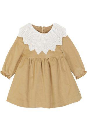 Tartine Et Chocolat Baby Besticktes Kleid aus Samt