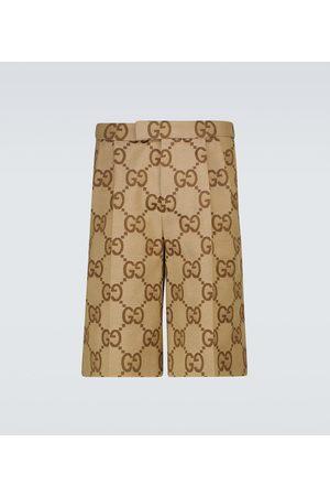 Gucci Shorts Jumbo GG aus Canvas