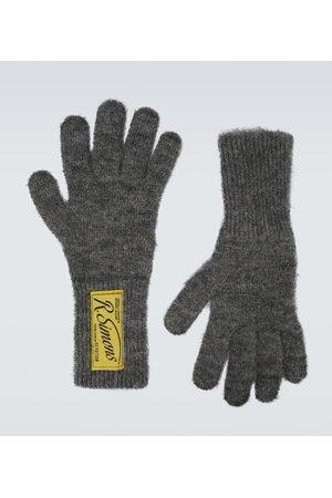 RAF SIMONS Handschuhe aus einem Mohairgemisch