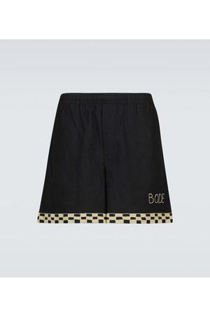 BODE Shorts aus Baumwolle