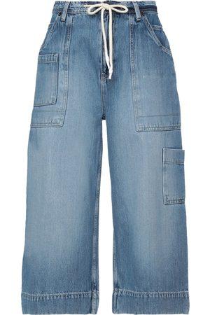 ONE TEASPOON Damen Cropped - HOSEN & RÖCKE - Cropped Jeans - on YOOX.com