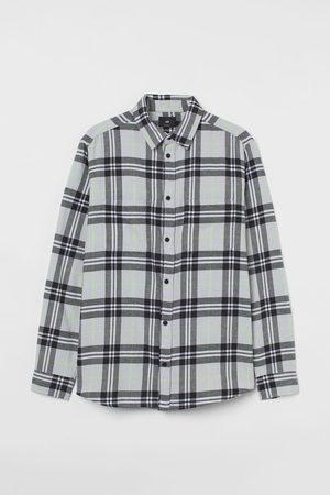 H&M Flanellhemd Regular Fit