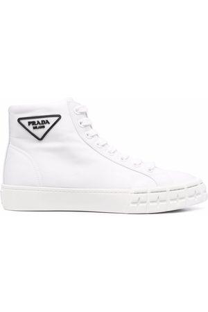 Prada Damen Sneakers - Wheel high-top sneakers
