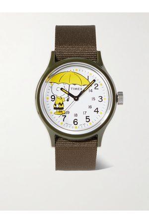 Timex Herren Uhren - Peanuts MK1 36mm Resin and NATO Watch